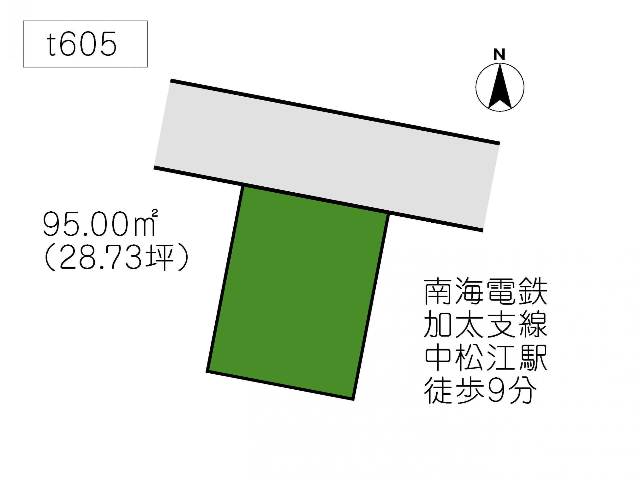 T605 松江北